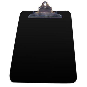 TABLA-DE-Plastico-RECICLADO-CON-CLIP-TAMA-O-CARTA-NEGRA-OMX