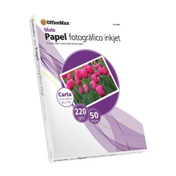Papel-Officemax-Fotografico-Carta-Mate-50-Hojas-220-Gr