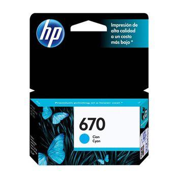 Cartucho-HP-670-Cyan
