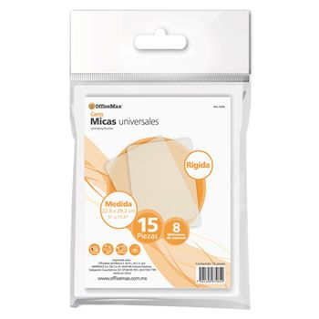 MICA-RIGIDA-OMX22.9X29.2-CM-8MM-15P