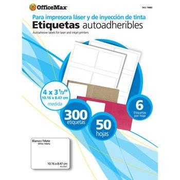 ETIQUETA-BLANCA-4-X-3-1-3-OMX-PAQ-CON-50-HOJAS300-PIEZAS