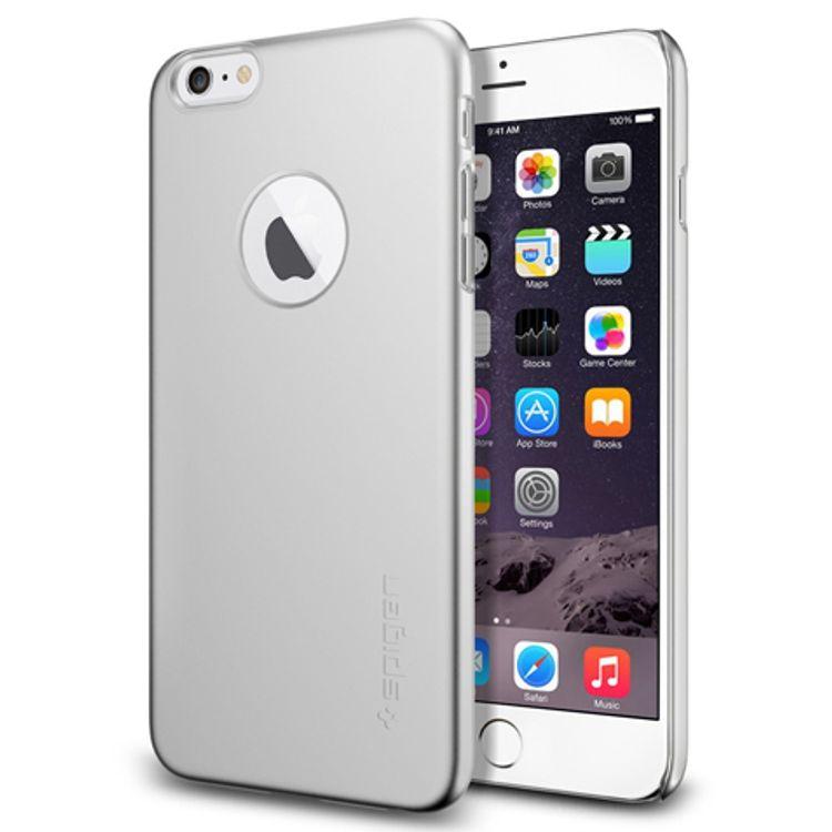 a8f96d21908 Funda Spigen iPhone 6 Plus Thin Fit color plata | Accesorios para ...