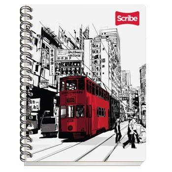 Cuaderno-Profesional-Cuadro-Grande-Espiral-Doble-O-Black-10-0-Hojas