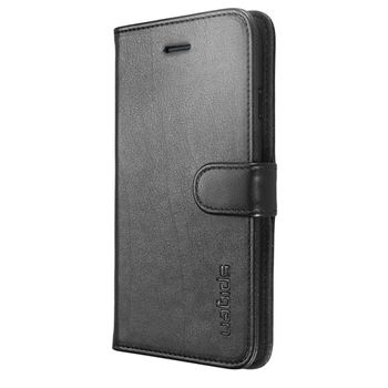 Funda-Spigen-iphone-6-Wallet-Slim-Negro
